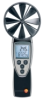 testo 417, vane probe anemometer with built-in 4 in. vane, incl. temperature measurement, battery, softcase and calibration certificate -- 400563 4170