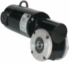 33A-5L/H Series DC Right Angle Hollow Shaft Gearmotor -- Model 6735