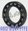 6802 Full Ceramic Bearing Si3N4/PTFE 15x24x5 -- Kit7723