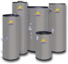 Indirect Fired Water Heaters -- Mega-Stor - Vertical