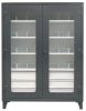 On-Site See-Thru Cabinets -- 46-LD-244-6/5DB-24DIV -- View Larger Image