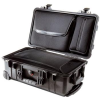 Pelican 1510LOC Laptop Overnight Case with Luggage Insert - Black | SPECIAL PRICE IN CART -- PEL-1510-006-110 - Image