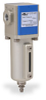 Pneumatic / Compressed Air Filter: 1/8 inch NPT female ports -- AF-213-MD - Image