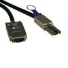 External SAS Cable, 4 Lane - mini-SAS (SFF-8088) to 4xInfiniband (SFF-8470), 1M (3-ft.), TAA -- S520-01M - Image