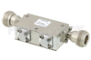 Dual Junction Isolator With 40 dB Isolation From 7 GHz to 12.4 GHz, 5 Watts And N Female -- PE83IR1022 - Image