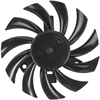 1.80 Watt (W) Power PLD08010B-B Series Type B Frameless Fan -- PLD08010B12M-B -Image