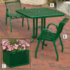 Expanded Steel Outdoor Tables -- 3312102