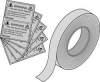 Application Tape 66 Ft Roll,10 Labels -- 4E521