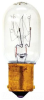 Special Purpose Incandescent Lamp -- 15T7DC-CARD-120