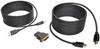 HDMI/DVI/USB KVM Cable Kit, 15 ft. -- P782-015-DH -- View Larger Image
