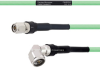 Temperature Conditioned Low Loss TNC Male to RA N Male Cable LL335i Coax in 100 cm -- FMHR0242-100CM -Image