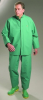 Chemtex by OnGuard 71050 Bib Overall, Plain Front w/ Inner Cuffs - Green, XL -- 791079-12259