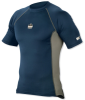 CORE Performance Work Wear(TM) 6410 Short Sleeve;2XL Navy -- 720476-40026