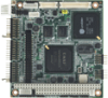 DM&P Vortex86DX-1GHz PC/104 SBC, LCD, LAN, CFC, On board memory -- PCM-3343Z2-256A1E