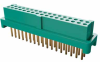 17+17 Pos. Female DIL Vertical Throughboard Conn. for Latches (T+R) -- G125-FV13405L0R - Image