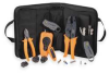 Deluxe Coax Cable Tool Kit,8 Pc -- 3AEX6