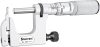 220XFL-1 Mul-T-Anvil Micrometer with Round and Flat Anvils and Carbide Faced Spindle -- 50746