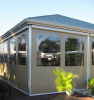 Exterior Solar Screen -- DuraShade E3500 Zip