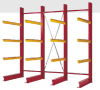 Cantilever shelving systems - Image