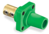 Female Receptacle,400A,600AC/250DC,Green -- 2XB52 - Image