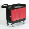 TradeMasterTM 2 Door Mobile Cabinet and Work Center 26 1/4