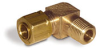 "Elbow Compression Fitting for Hydracision®, 1/4"" OD Tube Connection, 1/8"" Male NPT -- A4173-39"
