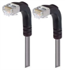 Category 5E Shielded Right Angle Patch Cable, Right Angle Down/Right Angle Down, Gray 20.0 ft -- TRD815SRA3GRY-20 -Image