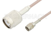 Reverse Polarity SMA Male to TNC Male Cable 12 Inch Length Using RG316 Coax, RoHS -- PE35226LF-12 -Image