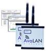 2.4 GHz Indoor Wireless Ethernet Bridge -- AVL-AW2400ITR-PAIR
