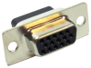 HD15 Female Crimp D-Sub Connector -- 500-122