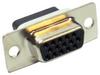 HD15 Female Crimp D-Sub Connector -- 500-122 - Image