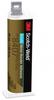 3M Scotch-Weld Metal Bonder Gray Two-Part Base & Accelerator (B/A) Acrylic Adhesive - 45 mL Dual Cartridge - DP8407NS -- 076308-86273