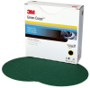 3M Green Corps 246U Coated Aluminum Oxide Disc Medium Grade 80 Grit - 8 in Diameter - 01549 -- 051131-01549 - Image