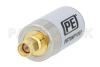 50 Ohm SMA Male to 75 Ohm F Male Matching Pad Operating from 0.009 MHz to 3 GHz RoHS Compliant -- PE70MP1007 -Image