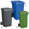 RELIUS SOLUTIONS Mobile Waste Containers -- 3228327