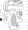 Thermodynamic Steam Trap with replaceable seats (Screwed/Socket Weld) -- TD62LM - Image
