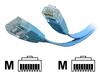 StarTech.com Flat Molded Cat 5e UTP Patch Cable -- FLAT45BL10