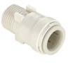 Quick-Connect Male Connectors - Polysulfone -- 3501B -- View Larger Image