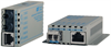 10/100BASE-TX to 100BASE-X Ethernet Media Converters with PoE Powering -- miConverter™ 10/100 PoE/D