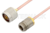 N Male to N Female Cable 60 Inch Length Using RG402 Coax -- PE3829-60 -Image