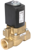 Servo-assisted 2/2 way piston valve -- 320856 -Image