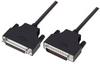 LSZH D-Sub Cable, DB25 Male / DB25 Female, 50.0 ft -- DSA00007-50F -Image
