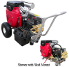Pressure Washer Honda GX670 24hp Belt Drive 6,000psi@4.5gpm -- HF-VB4560HGEA600