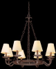 F2715 Mid. Chandeliers-Candle -- 369786