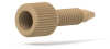 Extra Long PEEK Plug, 10-32 Coned Natural -- P-550