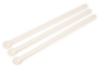3M White Standard Cable Tie CT8NT120-L - 9 in Length - 0.3 in Wide -- 051128-59311 -- View Larger Image