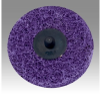 3M Scotch-Brite BF-DM Non-Woven Aluminum Oxide Quick Change Disc - Medium Grade - 2 in Diameter - 64213 -- 048011-64213 - Image