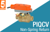Pressure Independent Quick Connect Control Valve with Non-Spring Return Actuator -- PIQCV Series