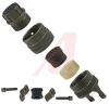 connector,metal circ,str plug w/waterproofing cable clamp,size 10,6 socket cont -- 70143398