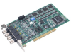 30 MS/s, 12-bit, Simultaneous 4-ch Analog Input Universal PCI Card -- PCI-1714